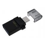 Kingston 32GB DataTraveler MicroDuo Flash Drive USB 3.2, Gen1, 80MB/s
