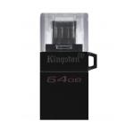 Kingston 64GB DataTraveler MicroDuo Flash Drive USB 3.2, Gen1, 80MB/s
