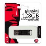 Kingston 128GB DataTraveler Elite Flash Drive USB 3.1, Gen1, 180MB/s