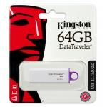 Kingston 64GB DataTraveler DTiG4 Flash Drive USB 3.0