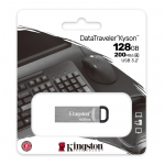 Kingston 128GB DataTraveler Kyson Type-A Flash Drive USB 3.2, Gen1, 200MB/s