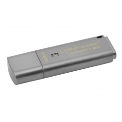 Kingston 32GB DataLocker+ G3 Encrypted Flash Drive USB 3.0, 135MB/s