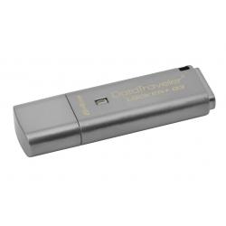 Kingston 64GB DataLocker+ G3 Encrypted Flash Drive USB 3.0, 135MB/s