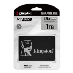 Kingston 1TB (1024GB) KC600 SSD 2.5 Inch 7mm, SATA 3.0 (6Gb/s), 3D TLC, 550MB/s R, 520MB/s W