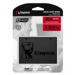 Kingston 1.92TB (1920GB) A400 SSD 2.5 Inch 7mm, SATA 3.0 (6Gb/s), 500MB/s R, 450MB/s W