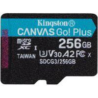 Kingston 256GB Canvas Go! Plus UHS-I Go Plus Micro SD (SDXC) Memory Card