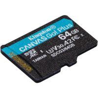 Kingston 64GB Canvas Go! Plus UHS-I Go Plus Micro SD (SDXC) Memory Card