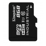 Kingston 8GB Industrial Micro SD (SDHC) Card 45MB/s R, 90MB/s W