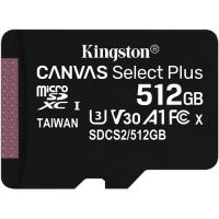 Kingston 512GB Canvas Select Plus UHS-I Micro SD (SDXC) Memory Card