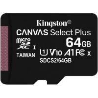 Kingston 64GB Canvas Select Plus UHS-I Micro SD (SDXC) Memory Card