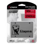Kingston 240GB V500 SSD 2.5 Inch 7mm, SATA 3.0 (6Gb/s), 520MB/s R, 500MB/s W