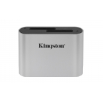 Kingston Workflow SD (SDXC) Card Reader, USB 3.2, Gen1, Type-C