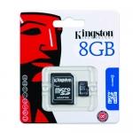 Kingston 8GB Micro SD (SDHC) Card 4MB/s W