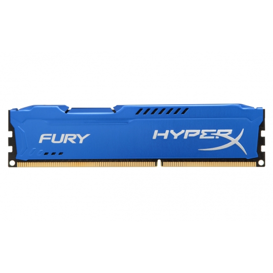 HyperX Fury HX318C10F/8 Blue 8GB DDR3 1866Mhz Non ECC Memory RAM DIMM