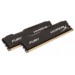 HyperX Fury HX316C10FBK2/16 Black 16GB (8GB x2) DDR3 1600Mhz Non ECC Memory RAM DIMM