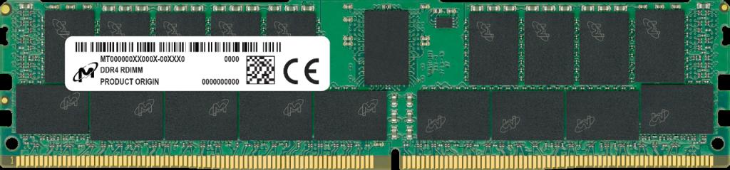 Micron MTA9ASF1G72PZ-3G2J3 memory module 8 GB 1 x 8 GB DDR4 3200 MHz ECC