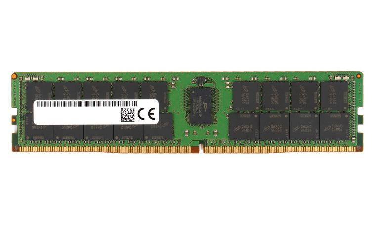 Micron MTA36ASF8G72PZ-3G2B2 memory module 64 GB 1 x 64 GB DDR4 3200 MHz ECC
