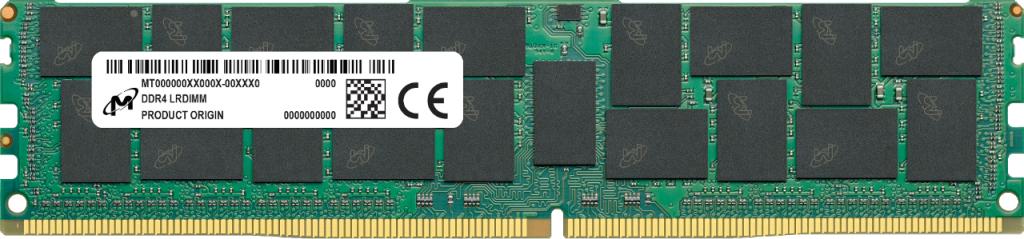 Micron MTA72ASS8G72LZ-2G6J1 memory module 64 GB 1 x 64 GB DDR4 2666 MHz ECC