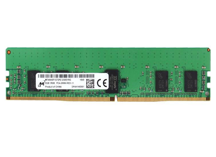 Micron MTA9ASF1G72PZ-3G2E2 memory module 8 GB 1 x 8 GB DDR4 3200 MHz ECC