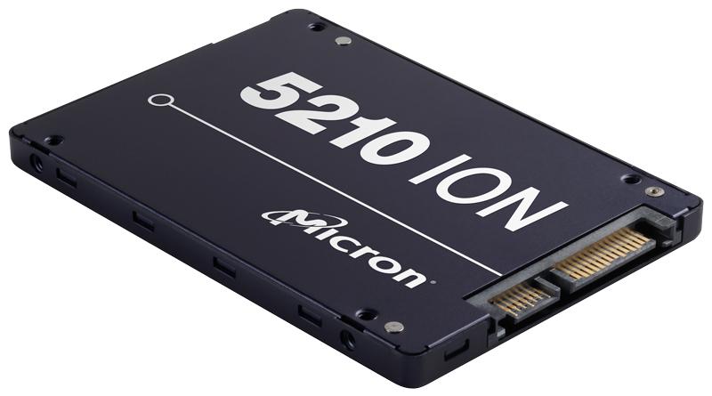 Micron 5210 ION 13 3840 GB Serial ATA III QLC 3D NAND