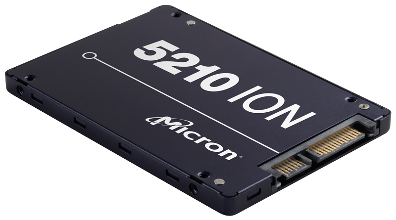 Micron 5210 ION 13 7680 GB Serial ATA III QLC 3D NAND