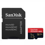 SanDisk 1TB (1000GB) Extreme Pro Micro SD (SDXC) Card U3, V30, A2, 170MB/s R, 90MB/s W