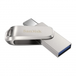 SanDisk 64GB Ultra Dual Drive Luxe Type-A/C Flash Drive, USB 3.1, Gen1, 150MB/s