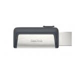 SanDisk 256GB Ultra Dual Type-C/OTG Flash Drive USB 3.1, 150MB/s