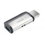 SanDisk 64GB Ultra Dual Type-C/OTG Flash Drive USB 3.1, 150MB/s